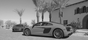Audi R8s at The Thermal Club